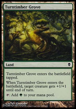 Turntimber Grove, Zendikar, Magic the Gathering