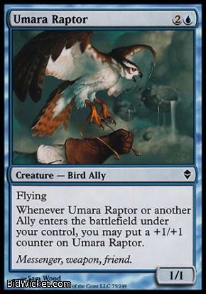 Umara Raptor, Zendikar, Magic the Gathering