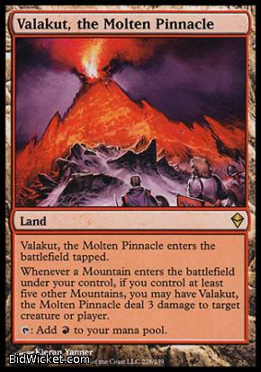 Valakut, the Molten Pinnacle, Zendikar, Magic the Gathering