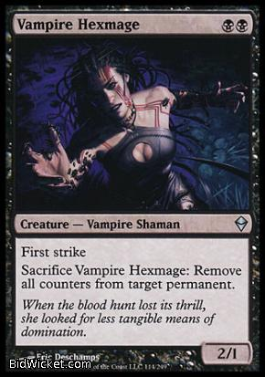 Vampire Hexmage, Zendikar, Magic the Gathering