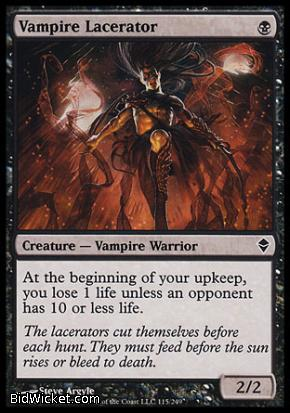 Vampire Lacerator, Zendikar, Magic the Gathering