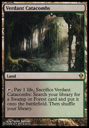 Verdant Catacombs, Zendikar, Magic the Gathering