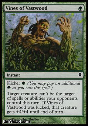 Vines of Vastwood, Zendikar, Magic the Gathering