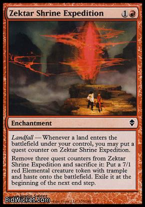 Zektar Shrine Expedition, Zendikar, Magic the Gathering