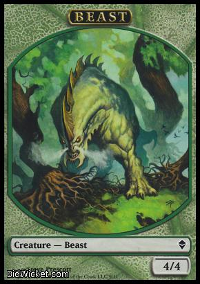 Beast (Token), Zendikar, Magic the Gathering