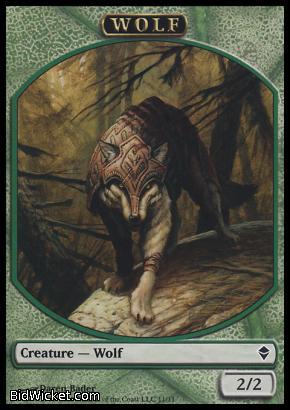 Wolf (Token), Zendikar, Magic the Gathering