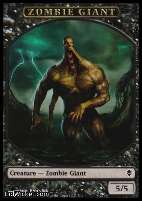 Zombie Giant (Token), Zendikar, Magic the Gathering