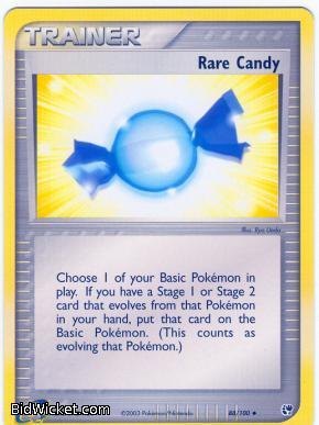 Rare Candy, EX Sandstorm, Pokemon