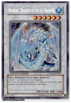 Brionac, Dragon of the Ice Barrier,Hidden Arsenal, Yu-Gi-Oh