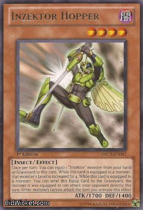Inzektor Hopper, Order of Chaos, Yu-Gi-Oh