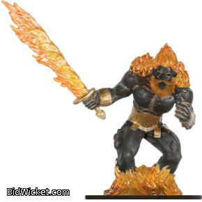 Fire Titan, Against the Giants, Dungeons and Dragons Miniatures