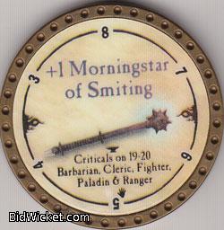 +1 Morningstar of Smiting, Special Tokens, True Dungeon Tokens