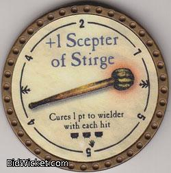 +1 Scepter of Stirge, Special Tokens, True Dungeon Tokens
