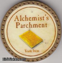 Alchemist's Parchment, Special Tokens, True Dungeon Tokens