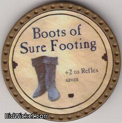 Boots of Sure Footing, Special Tokens, True Dungeon Tokens