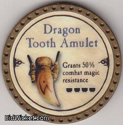 Dragon Tooth Amulet, Special Tokens, True Dungeon Tokens