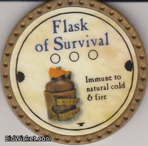 Flask of Survival, Special Tokens, True Dungeon Tokens