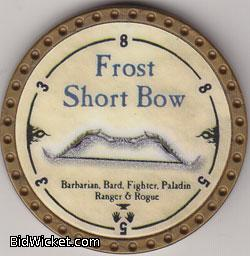 Frost Short Bow, Special Tokens, True Dungeon Tokens