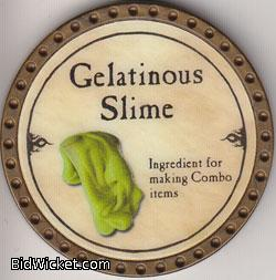 Gelatinous Slim, Special Tokens, True Dungeon Tokens