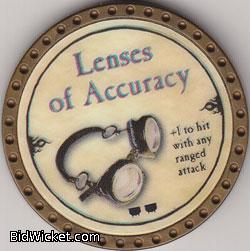 Lenses of Accuracy, Special Tokens, True Dungeon Tokens