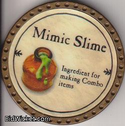 Mimic Slime, Special Tokens, True Dungeon Tokens
