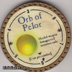 Orb of Pelor, Special Tokens, True Dungeon Tokens