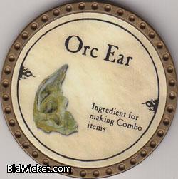 Orc Ear, Special Tokens, True Dungeon Tokens