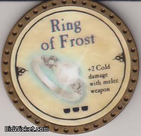Ring of Frost, Special Tokens, True Dungeon Tokens