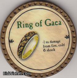 Ring of Gaea, Special Tokens, True Dungeon Tokens