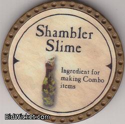 Shambler Slime, Special Tokens, True Dungeon Tokens