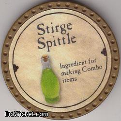 Stirge Spittle, Special Tokens, True Dungeon Tokens
