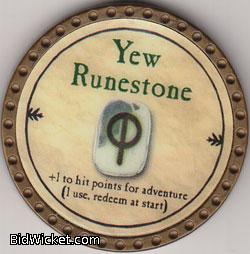 Yew Runestone, Special Tokens, True Dungeon Tokens