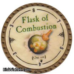 Flask of Combustion, Special Tokens, True Dungeon Tokens