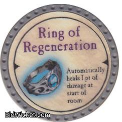 Ring of Regeneration, Special Tokens, True Dungeon Tokens
