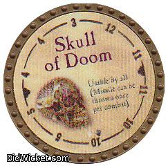 Skull of Doom, Special Tokens, True Dungeon Tokens