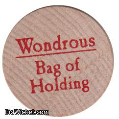 Wondrous Bag of Holding, Special Tokens, True Dungeon Tokens