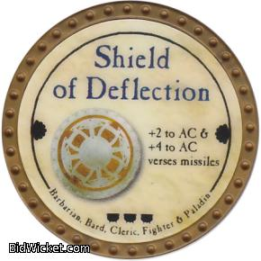 Shield of Deflection, Special Tokens, True Dungeon Tokens