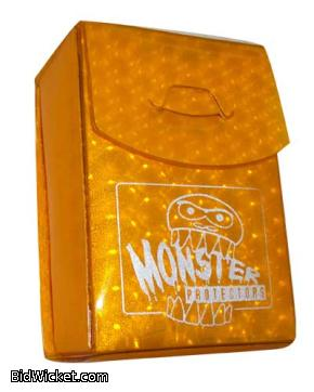 Monster Binder Deck Box - Gold