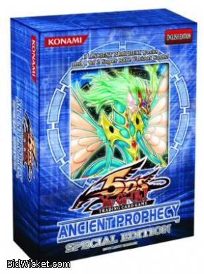 Ancient Prophecy Special Edition Pack (3x Boosters and 1 Promo)