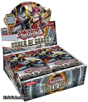 Order of Chaos Booster Box - Yugioh Zexal