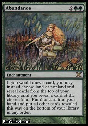 http://gaming-etc.com/Item/Magic-the-Gathering---10th-Edition---Abundance-Near-Mint-Normal-English.html