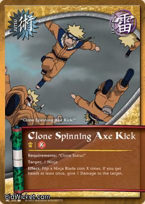 Clone Spinning Axe Kick