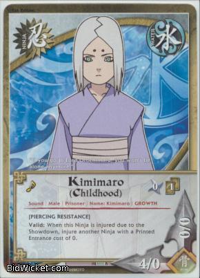 kimimaro childhood
