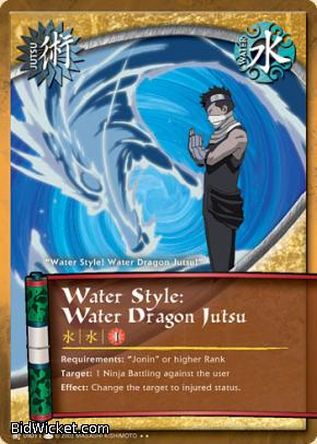 Water Style: Water Dragon Jutsu