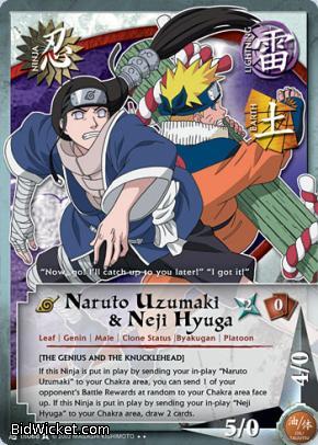 Naruto cards singles