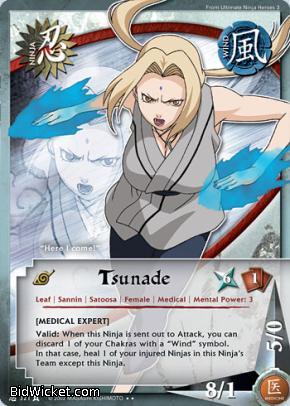 Naruto tsunade game