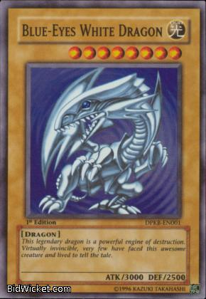 blue eyes white dragon. Name: Blue-Eyes White Dragon