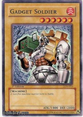 Gadget Soldier, Labyrinth of Nightmare, Yu-Gi-Oh, Singles, C